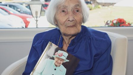 Ethel Hunt celebrated her 100th birthday with a party at Belmont Hotel on August 2. She received a c