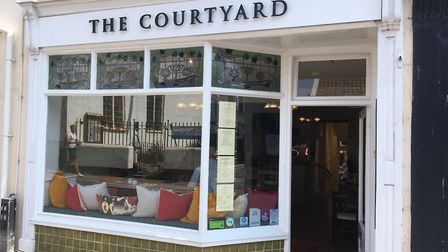 Gill Smee and Shane Hudson have opened The Courtyard. Picture: Clarissa Place