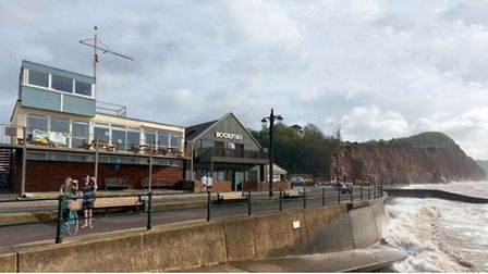 The first look at Rockfish's planning application for Sidmouth's Drill Hall. Picture: Grainge Archit