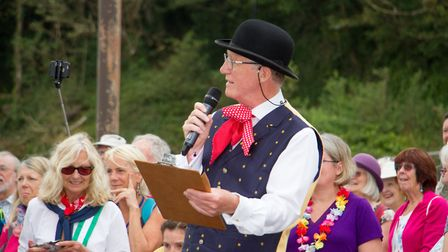 Sidmouth Folk Festival 2019. Ref shs 32 19TI 2019 9809. Picture: Terry Ife
