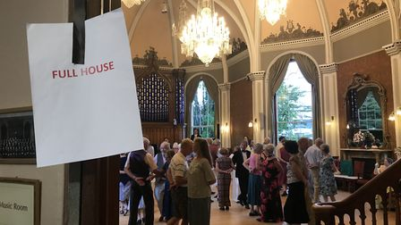 The event was so popular, there was no room for any latecomers. Picture: Maria McCarthy