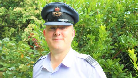 Ex-Sidmouth Air Cadet John Radford has recently been promoted to the role of Wing Commander for the