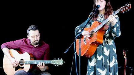 Rich Endersby-Marsh and Harri Endersby at the Bedford. Picture: Paul Strange