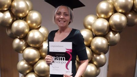Harriet Steptoe is taking on a new role as a Slimming World team developer. Picture: Slimming World
