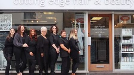 The team at Cutting Edge. Picture: Cutting Edge