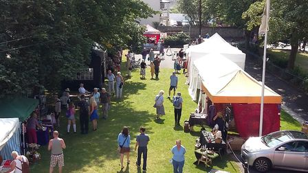 The annual Food Festival at Kennaway House. Picture: Kennaway House