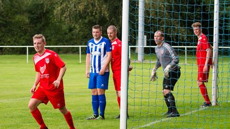 Ottery AFC at home to Totnes&Dartington FC. Ref shsp 34 19TI 8484. Picture: Terry Ife