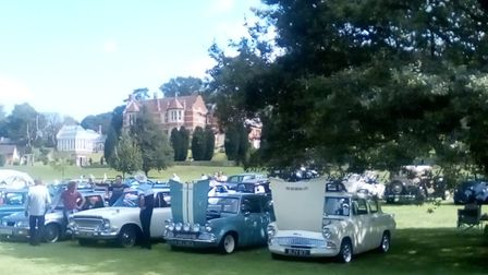 The vehicle show at Chanters. Picture: Provided by organisers