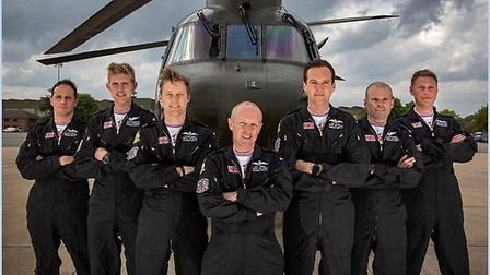 The Chinook display team. Picture: RAF Odiham