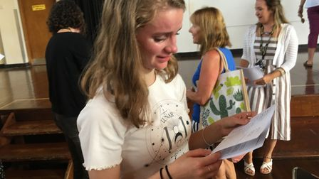Harriet Wardrop achieved ten Grade 9s at GCSE and is likely one of the highest achieving GCSE studen