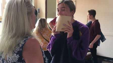 India Sudlow is thrilled with her GCSE results. Picture: Beth Sharp