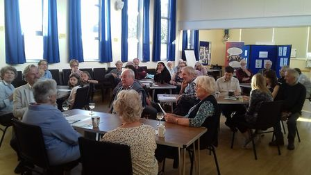 Sidmouth's catholic church hosts conversation about climate change and the environment. Pictures: Na