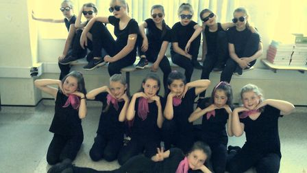 Grease dance medley. Picture: Tipton St John Primary School