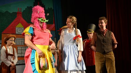 OCT in action in last year's pantomime, Froggy Froggy. Picture: Catriona Paton
