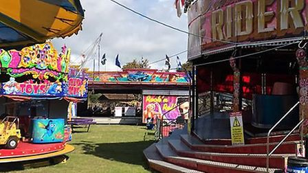 The fun fair will be in Sidmouth until Friday evening. Picture: David Rowland