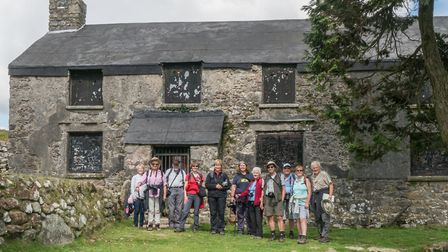 The Group on Dartmoor. Picture: SPG