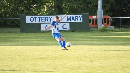 Action from the Grandisson Cup final between Ottery St Mary and Kentisbeare that saw the Otters beat
