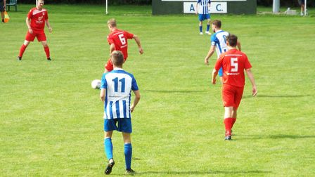 Ottery St Mary Football Cluv vs Totnes and Dartington. Picture: Sam Cooper