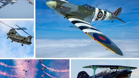 It is nearly time for Sidmouth's air display featuring RAF Falcons Parachute Display Team, Twirlybat