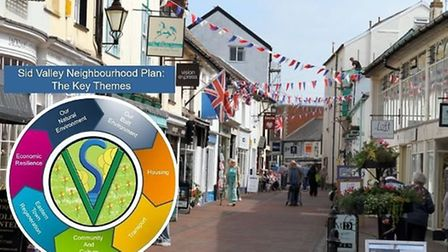 Sidmouth Neighbourhood Plan focuses on a number of elements. Picture: Contributed