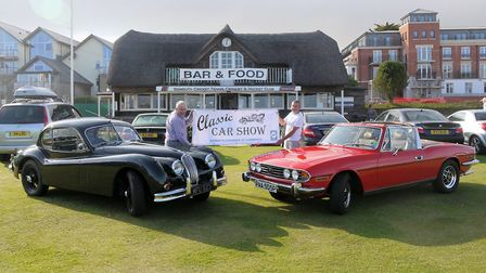 Sidmouth's Classic Car Show has received a record number of entries this year