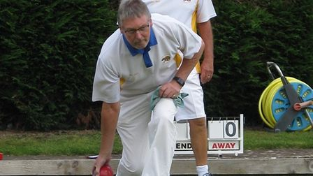 Action from the St Mary Bowls Club's 2019 Finals Day. Picture: OSMBC