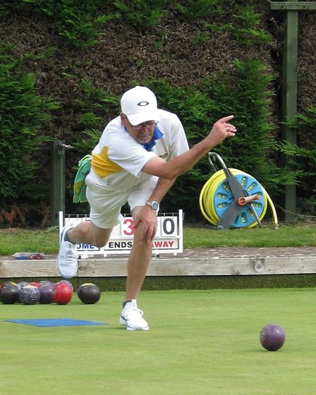 Action from the Ottery St Mary Bowls Club's 2019 Finals Day. Picture: OSMBC