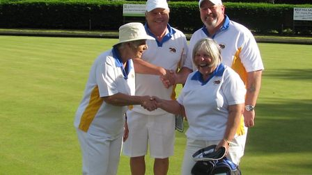 Finalists at Ottery St Mary Bowls Club Finals Day. Picture: OSMBC