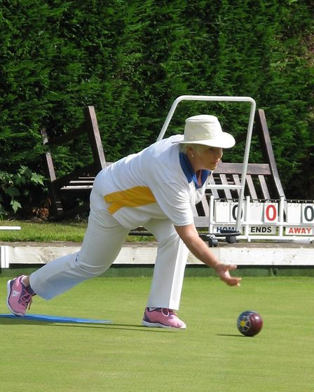 Action from Finals Day at Ottery St Mary Bowls Club. Picture OSMBC