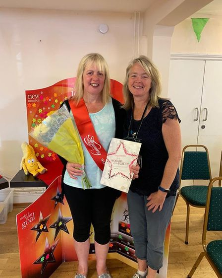 Gina Denny has been named the Sidmouth Slimming World groups 'Woman of the Year' 2019. Picture: Harr