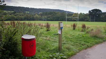 Sidmouth Rugby club's Byes ground at Sidford. Ref shs 37 19TI 9687. Picture: Terry Ife