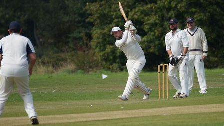 Dave Thayre who top scored for Tipton against Cavendish Cavaliers. Picture PHIL WRIGHT