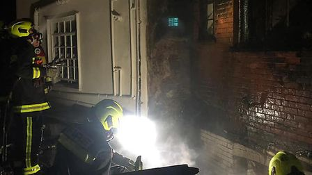 Exmouth firefighters attended a blaze at a Topsham restaurant on Wednesday, September 11. Picture: E