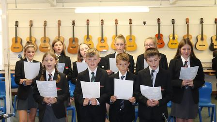 Members of the Sidmouth College choir will take part in the event. Picture: Charlotte Pollentine
