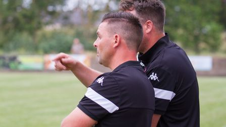 Sidmouth Town away at Exmouth for a pre-season friendly. Ref shsp 29 19TI 7467. Picture: Terry Ife
