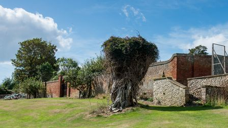 Peak House. The site of the original house, which burnt down in 1903. Picture: Alex Walton