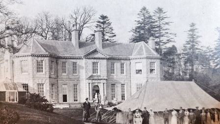 Peak House. The house was used as a convalescent home during World War One. Picture: courtesy of the