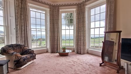 Peak House. View from the master bedroom. Picture: Alex Walton