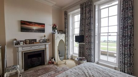 Peak House. One of the three bedrooms. Picture: Alex Walton