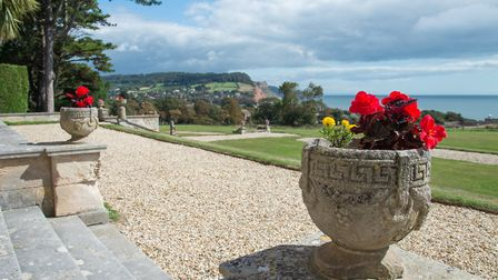 Peak House. View from the steps of the house. Picture: Alex Walton
