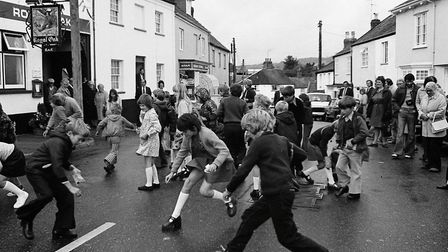 Sidbury Hot Pennies (1976). Picture: Sidmouth Herald archives