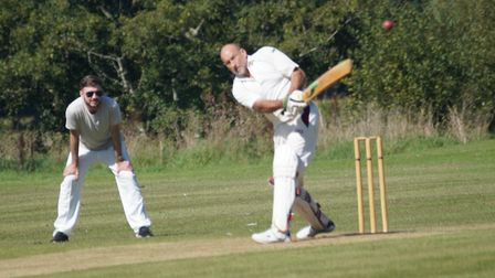Al Matthews batting for Tipton. Picture: PHIL WRIGHT