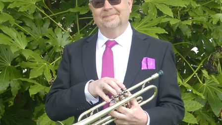 Trumpeter Andy Dickens. Picture: Contributed