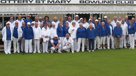 Ottery St Mary bowlers out in force for the Final Drive event that brought the curtain down on the 2
