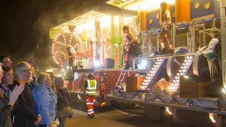 The Sidvale float at Sidmouth Carnival. Ref shs 39 19TI 1504. Picture: Terry Ife