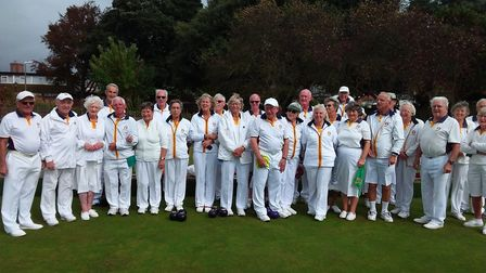 Sidmouth bowlers who took part in a most enjoyable final drive as the curtain came down on the 2019