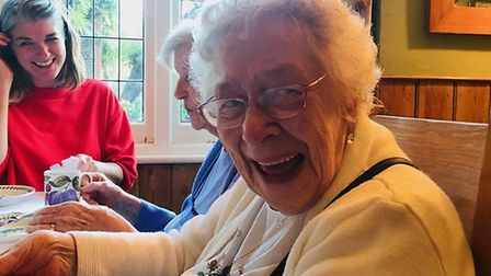 Residents having fun at previous Contact the Elderly tea parties. Picture: Contact the Elderly