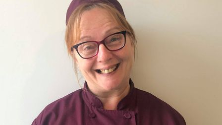 Head chef Cathryn McCollum, of Kings Manor, is up for a national award. Picture: Kings Manor Care Ho