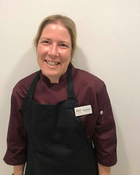 Head chef Michelle Stroud, of Kings Manor, is up for a national award. Picture: Kings Manor Care Hom