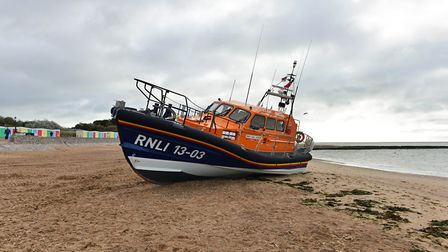 Exmouth RNLI lifeboat. Picture: John Thorogood/Exmouth RNLI